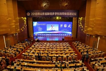 院士专家共话癌症治疗——2018年肺癌多学科共同体高峰论坛在济南召开