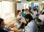 无偿献血奉献爱心——我院广大职工积极参加献血活动