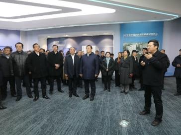 省委常委、济南市委书记王忠林、市长孙述涛莅临我院质子中心现场观摩